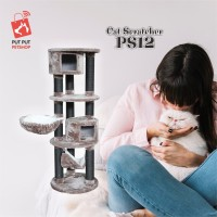 CAT SCRATCHER PS12 ukuran 60-60-175cm