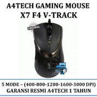 A4Tech Gaming Mouse X7 F4 V-Track Macro Onboard-Memory Original