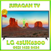 TV LED LG UHD SMART TV 43 INCH 43UK6300