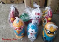 Celengan Tanah Liat Ayam Jago, Macan , Minion, Doraemon, Hello Kitty