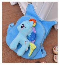Tas Sekolah Anak (Ransel + Bonek My Little Pony)