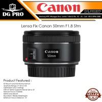 Lensa Fix Canon 50mm F1.8 Stm Resmi Canon DATASCRIP - Lensa Bokeh