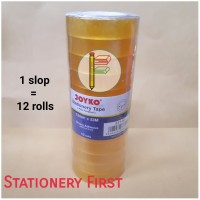 Isolasi Solatip Cellotape Kado Kecil Tebal 1/2 inch 12mm Joyko Nachi