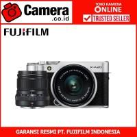 FUJIFILM X-A20 Kit 15-45mm f/3.5-5.6+XF50mm F2 (Silver)