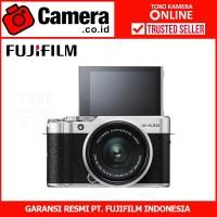 FUJIFILM X-A20 Kit 15-45mm f/3.5-5.6 (Silver) - Kamera Mirrorless