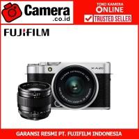 FUJIFILM X-A20 Kit 15-45mm f/3.5-5.6+XF23mm F2 (Silver)