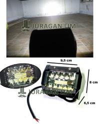 Lampu Tembak Sorot Offroad Cree 20 Mata / 20 LED 3 susun Motor Mobil