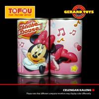 Celengan Kaleng Tabung Kecil Minnie Mouse MURAH KEREN