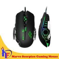 Marvo Scorpion Arachnids M908 Gaming Mouse dihiasi Breath
