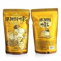 Snack import korea toms farm honey butter almond