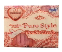 Charm Pure Style Double Fresh Parfumed 26 Lembar Charm Panty Liner