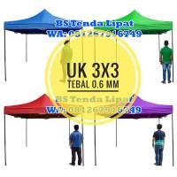 Tenda Lipat 3x3 Ketebalan Besi 0.6 MM
