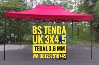Tenda Lipat 3x4.5 Ketebalan Besi 0.6 MM