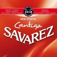 Savarez 510 CR New Cristal Cantiga Senar Gitar Klasik Normal Tension