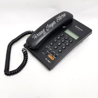 Telepon Kabel Panasonic KX-T7705 (Hitam)