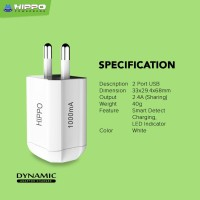 Hippo Dynamic Adaptor Charger Dual Output Value Pack