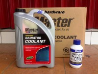 MASTER RADIATOR COOLANT PREMIX GREEN HIJAU READY TO USE GALON - FLUSH