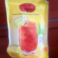 cha tra mue Thailand 2 in 1 instant lemon tea teh lemon