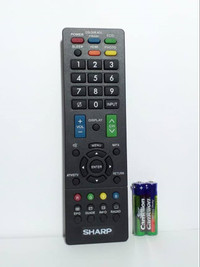 REMOTE TV SHARP LCD/LED Universal - Hitam