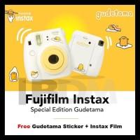 Fujifilm Instax Mini 8 Kamera Gudetama Special Editon Produk Terbatas