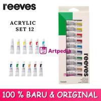 Reeves 12 Acrylic Color Set / Reeves Akrilik / Cat Akrilik / Acrylic