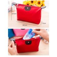 GISFT1158-red Tas Kosmetik Cantik Import Murah/ Pouch