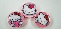Kotak Softlens Hello Kitty Bulat / Travel Kit / Wadah Softlens / Lensa
