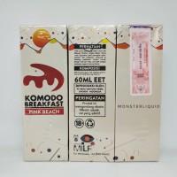[CUKAI] KOMODO BREAKFAST PINK BEACH BY MILF 60ML 3MG PREMIUM E LIQUID