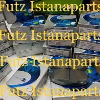 Brake pad / kampas rem DEPAN HONDA JAZZ GD3 MERK COMPACT ORIGINAL