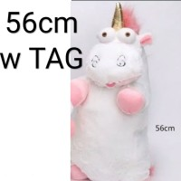 boneka unicorn fluffy agnes despicable me minion import 56cm besar