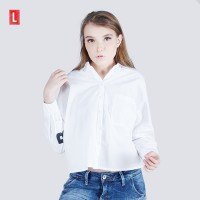 Logo Jeans Shirt Ever Offwhite 24606L5OW