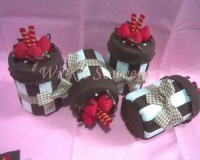 [READY] ECER TOPLES FLANEL CHOCO BLASTER