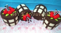 [READY-ECER] TOPLES FLANEL CHOCO BROWNIE