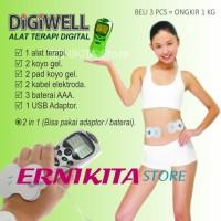 Alat Terapi Digital DIGIWELL + USB Adaptor + 3 x Baterai AAA