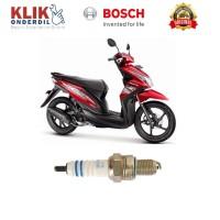 Bosch Busi Sepeda Motor Hoda Beat UR5DC (1 Pcs) - Busi Motor Kuat &