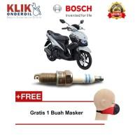 Bosch Busi Sepeda Motor Yamaha Mio U4AC 0241050005 - 2 Busi - Gratis