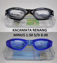 Kacamata Renang Minus Myopia -1.5 sd 8 With Box