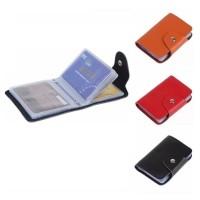 Dompet Kartu - Card Holder - Card Organiser Kulit Warna ADJD