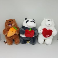 boneka we bare bears - festival series plush
