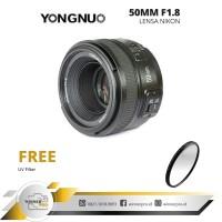 lensa yongnuo YN 50MM F/1.8 FOR NIKON