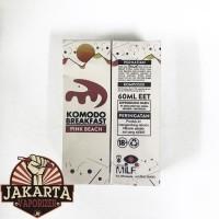 [6MG] Komodo Breakfast Pink Beach Premium Liquid by MILF 60ml