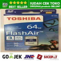 Toshiba Flash Air 64GB Wifi SD Card Wireless LAN Flashair w04 64 GB