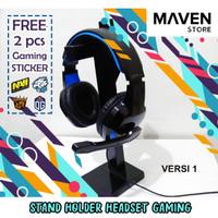Stand Holder Headset Gaming - DIY Kayu VERSI 1 Murah & Simple