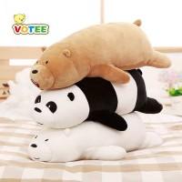 Boneka We Bare Bears 53cm Boneka Panda Boneka Beruang Boneka Kucing