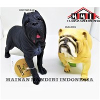 Terlaris!!! Mainan Action Figure New Canna Dog - Anjing Bulldog &