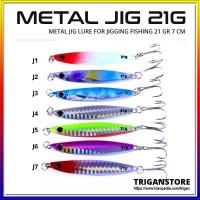 Umpan Pancing Metal Jig Lure 7 CM 21G Metal Bait Jigging Casting