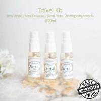 Serai Maharati Travel Kit isi 3 Minyak Sereh Lemongrass oil