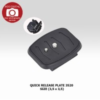 QUICK RELEASE PLATE 3520
