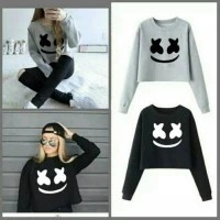 Murmer Sweater marsmelow, bahan babyterry , fit to L