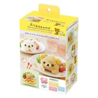 murah Original Japan Rilakkuma Rice Case Set Mold San-X Die Cut & Face